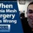 hernia mesh complications video